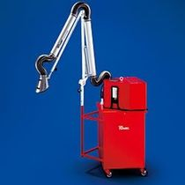 mobile welding fume filter extractor with extraction arm  RUWAC