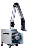 mobile welding fume filter extractor with extraction arm 700 - 1 200 CFM | ESP  United Air Specialists