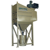 modular cartridge dust collector: pulse jet CDF CLEMCO