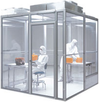 modular clean room airlock Simplex