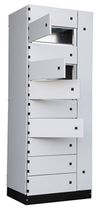 modular electrical cabinet for low-voltage power distribution MCC Quadritalia s.r.l.