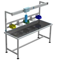 modular workbench WBA series TESEO