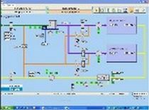 monitoring and control software for compressed air system  LUWA