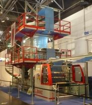 monolayer blown film extrusion line  Ibañez Extrusoras, S.L.