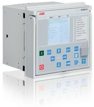motor protection relay REM615 IEC/ANSI ABB Oy Distribution Automation