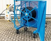 motorized cable reel  Jakob Thaler