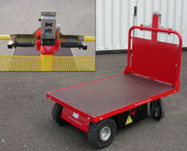 motorized cart max. 500 kg, 1 200 X 800 mm | CT1-128 / CT2-128 STI INDUSTRIE