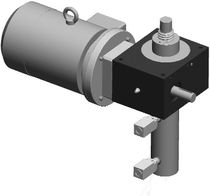 motorized worm gear screw jack (translating screw) 2.5 - 100 kN | S.E.L. series Setec