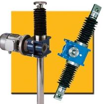 motorized worm gear screw jack (translating ball screw) 500 - 50 000 daN SNT