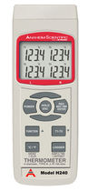 multi channel digital handheld thermometer -199 - 2498 °F | H240 Anaheim Scientific
