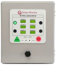 multi channel gas detection control unit CSA, CE | MC600 General Monitors