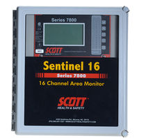 multi channel gas detection control unit 32 channels | 7800 Series Scott Health & Safety