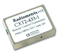 multi-channel radio transmitter 25 kHz | CXT2 Radiometrix
