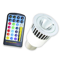 multi-color LED bulb with remote control 5 W Eneltec (Shanghai) Co., Ltd.