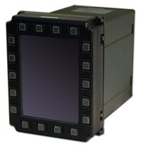 multi-function display DuraVIS 4300 Parvus