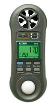 multi-function meter: temperature, air velocity, relative humidity and light meter -100 To 1300°C, 0.4 - 30 m/s | 45170 Extech