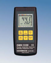 multi-function meter: temperature, air velocity and relative humidity 0 - 100 %RH, -40 - 120 °C | GMH 3330 GHM-Messtechnik
