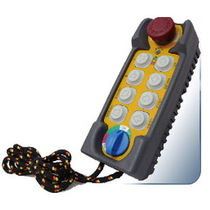 multi-function radio remote-control 132 x 55 x 40 mm, 220 g | F21-E2 Telecrane LEE HI-TECH ENT