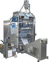 multi-lane V-FFS stickpack bagging machine for powders max. 20 lanes, 40 - 60 cycles/min Gopack d.o.o. Nova Gorica, Packaging Machines