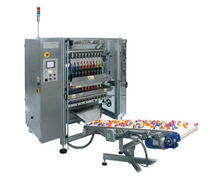 multi-lane V-FFS stickpack bagging machine for powders max. 70 cpm Schmucker