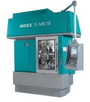 multi-spindle CNC lathe max. 16 mm | MS16C INDEX-Werke