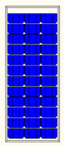 multicrystalline photovoltaic module 50 - 70 W | MP 50-70 Microsol International