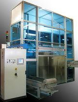 multiple bath solvent cleaning machine (immersion) 2S - 3S NOVATEC srl - Surface Finishing Technology