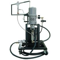 multiple color gelcoat spraying unit 1 - 8 lbs/min (0.45 - 3.6 kg/min) | LW05 GS Manufacturing