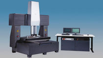 multiple sensor bridge-type CNC coordinate measuring machine (CMM) 1000 x 1000 x 300 mm | Inspector® FQ WERTH MESSTECHNIK