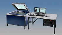 multisensor coordinate measuring machine (CMM) with matrix scanner 650 x 600 mm | FlatScope® 400/650 WERTH MESSTECHNIK