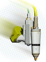 Nd:YAG laser cutting head for robot applications  Laser Mechanisms