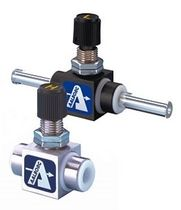needle valve for high purity applications max. 55 slpm, PTFE | VT Aalborg Instruments