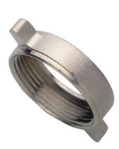 nickel plated brass lock nut DN 25 - 50 | 206 series Morsello Inox srl
