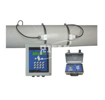 non-invasive clamp-on ultrasonic flow-meter for liquids DN15 - DN4500, 250 °C, RS232 | AP5190 Riels Instruments