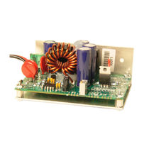 non-isolated step-up DC/DC converter 12 VDC / 48VDC, 400 W | PSU48/12-2, PSU48/24-2 JVL