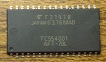 non-volatile flash memory  Toshiba America Electronics Components