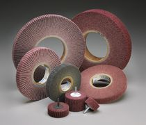 non-woven flap wheel  Norton Abrasives