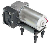 oil free piston vacuum DC pump max. 2.8 l/min, 2.5 bar | DP 0105 Nitto Kohki Deutschland