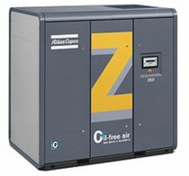 oil free screw compressor (stationary) 50 - 2 050 l/s, 1 - 4 bar | ZE, ZA series Atlas Copco Compresores