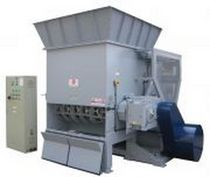 one shaft shredder (plastic, wood, glass, paper, cardboard, rubber) 2.5 - 3.5 t/h | MR 40-150 ISVE