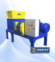 one shaft shredder (plastic, wood, glass, paper, cardboard, rubber) GWS-55 Enerpat Machine Co.,Ltd