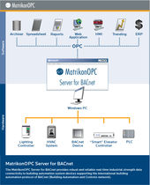 OPC server for BACnet protocol BACnet OPC Server MatrikonOPC