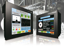 Operator terminal with touch screen / graphic