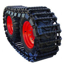over-the-tire track for skid steer loaders 10x16.5 ... 14x20 | DIAMOND™ OTT series McLaren Industries