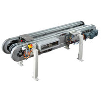 pallet accumulation chain conveyor for assembly max. 130 kg | AFS TÜNKERS
