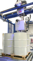 pallet drum liquid filling machine (automatic) max. 40 drums/hour, 60 - 1000 L PACK'R