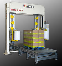 pallet strapping machine 120 p/h | Moviband MOVITEC WRAPPING SYSTEMS SL
