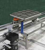 pallet transfer system  OCS Overhead Conveyor System