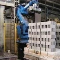 palletizing robotic cell  Gaiotto Automation
