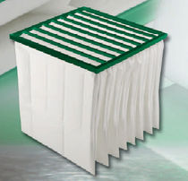 panel air filter for clean room 100 °C MANN HUMMEL Filters
